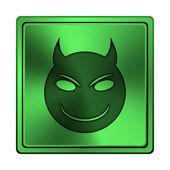 ícone do mal — Foto Stock