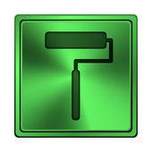 Roller icon — Stock Photo