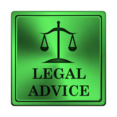 Legal advice icon — Stock Photo
