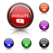Donate icon — Stock Vector