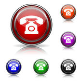 Phone icon — Cтоковый вектор