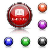 E-βιβλίο εικονίδιο — Διανυσματικό Αρχείο