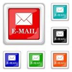 E-mail icon — Stock Vector #44613711