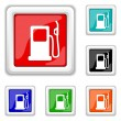 Gas pump icon — Stock Vector