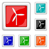 Windmill icon — Stock Vector