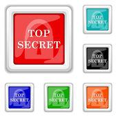 Top secret icon — Stock Vector