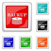 Back-up icon — Stock Vector