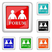 Forum icon — Stock Vector