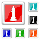 Chess icon — Stock Vector