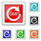 Reload 360 icon — Stock Vector
