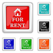 For rent icon — Stock Vector