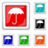 Umbrella icon — Stock Vector