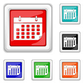 Calendar icon — Stock Vector