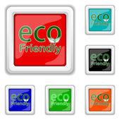 Eco Friendly icon — Stock Vector