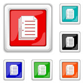 Icono de documento — Vector de stock