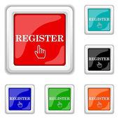 Register icon — Stock Vector