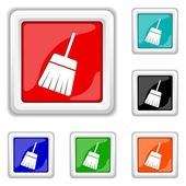 Sweep icon — Wektor stockowy