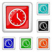 Icona orologio — Vettoriale Stock