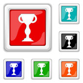 Winners cup icon — Stock Vector