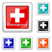 Emergency icon — Stock Vector