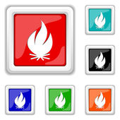 Fire icon — Stock Vector