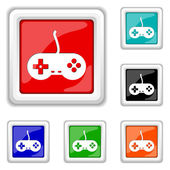 Gamepad icon — Stock Vector