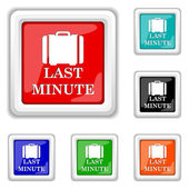 Last minute icon — Stock Vector