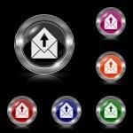 Send e-mail icon — Stock Vector #45476013
