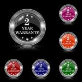 2 year warranty icon — Wektor stockowy