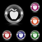 Apple アイコン — ストックベクタ