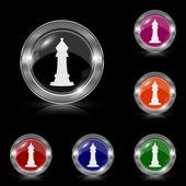 Chess icon — Stock Vector