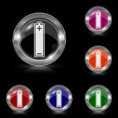 电池图标 — 图库矢量图片