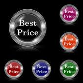 Best price icon — Stock Vector
