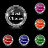 Best choice icon — Stock Vector