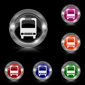 Bus icon — ストックベクタ