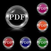 PDF icon — Stock Vector