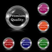 Premium quality icon — Stock Vector