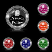 Privacy policy icon — Stock Vector