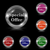 Special offer icon — Vettoriale Stock