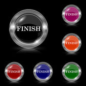 Finish icon — Vecteur