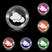 Clouds icon — Vector de stock