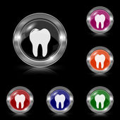 Tooth icon — Stock Vector