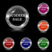 Summer sale icon — Stock Vector