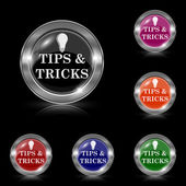 Tips and tricks icon — Vettoriale Stock