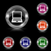 Laptop icon — Vecteur