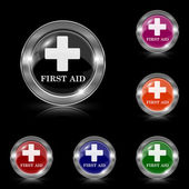 First aid icon — Stock Vector
