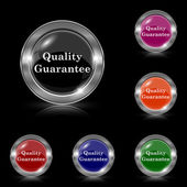 Quality guarantee icon — Stock Vector