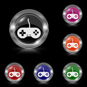 Gamepad icon — Stok Vektör