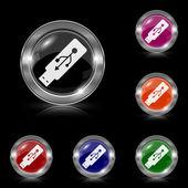 Usb flash drive icon — Stock Vector