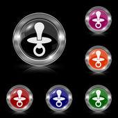 ícone de chupeta — Vetorial Stock